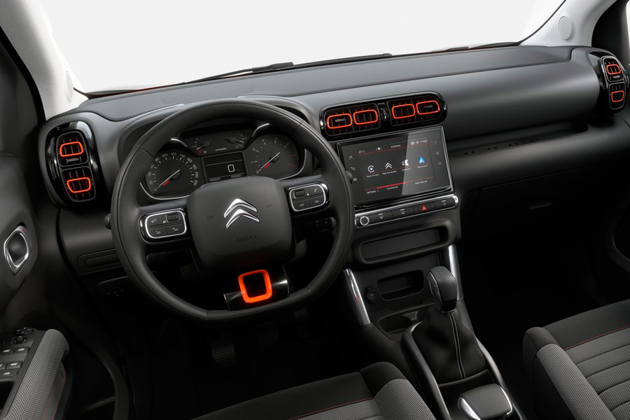 Interior Citroen C3 Aircross 2018.