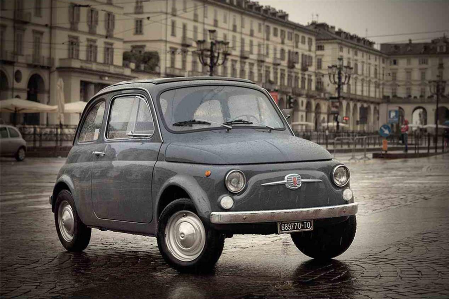 Fiat 500 Turin.