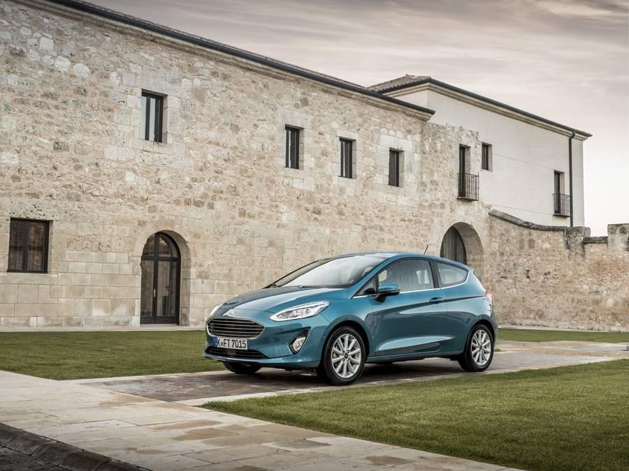 Ford Fiesta Titanium, la estética más contenida.