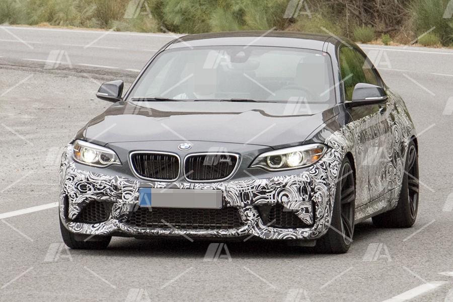 Fotos espía del BMW M2 CS 2018