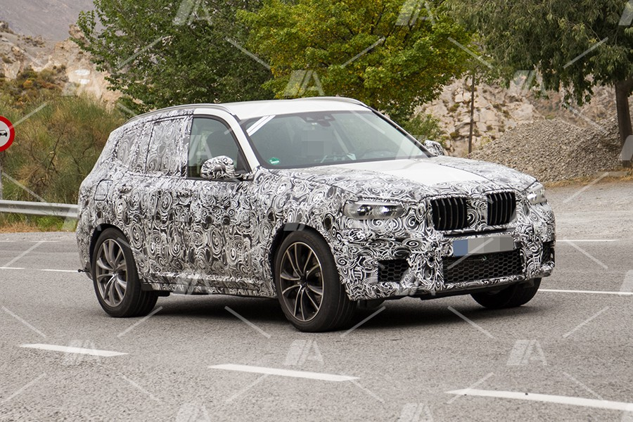 Fotos espía del BMW X3 M 2018