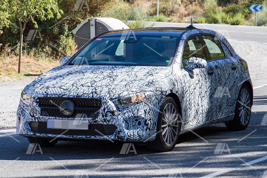 Fotos espía del Mercedes Clase A Hybrid 2018