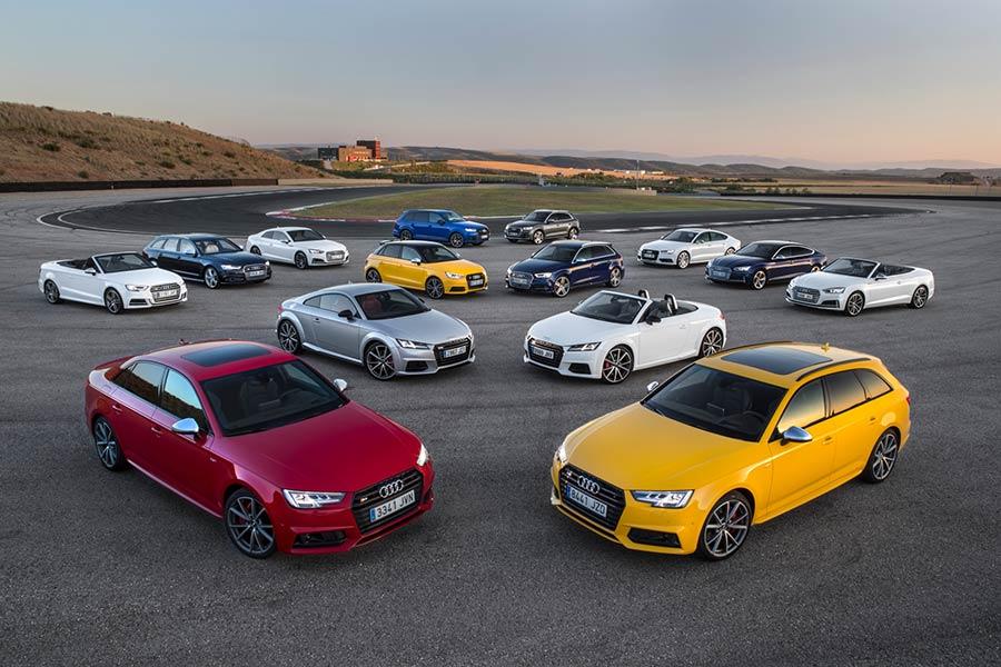 Gama Audi S 2017: adrenalina, seguridad y confort