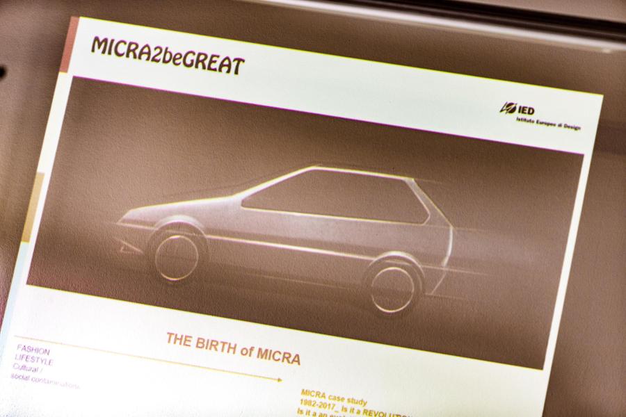 Primer prototipo Nissan Micra.