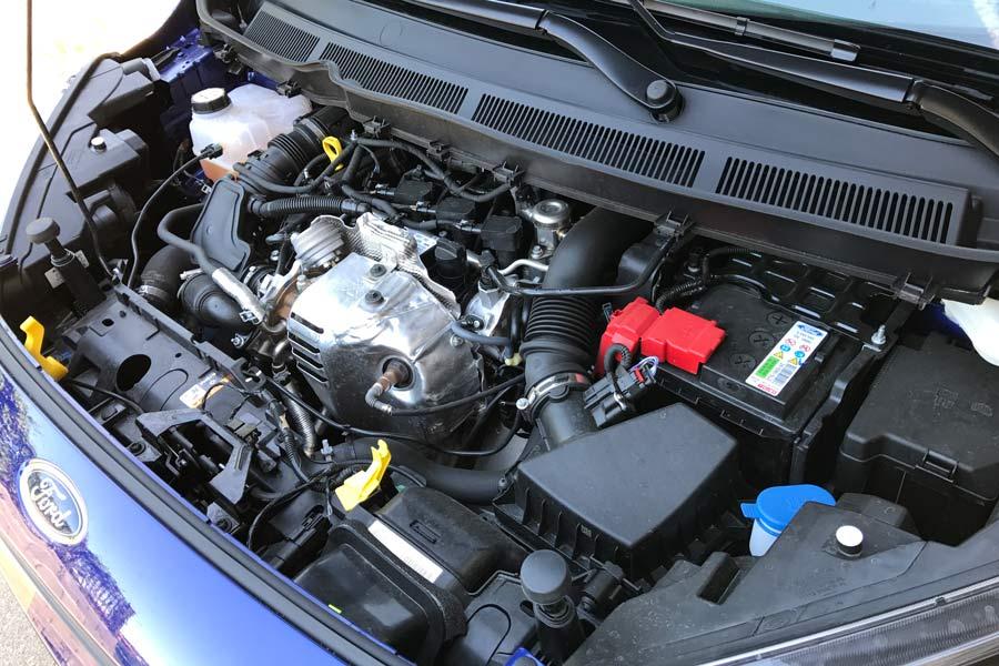 El motor 1.0 EcoBoost de 100 CV es una auténtica gozada.