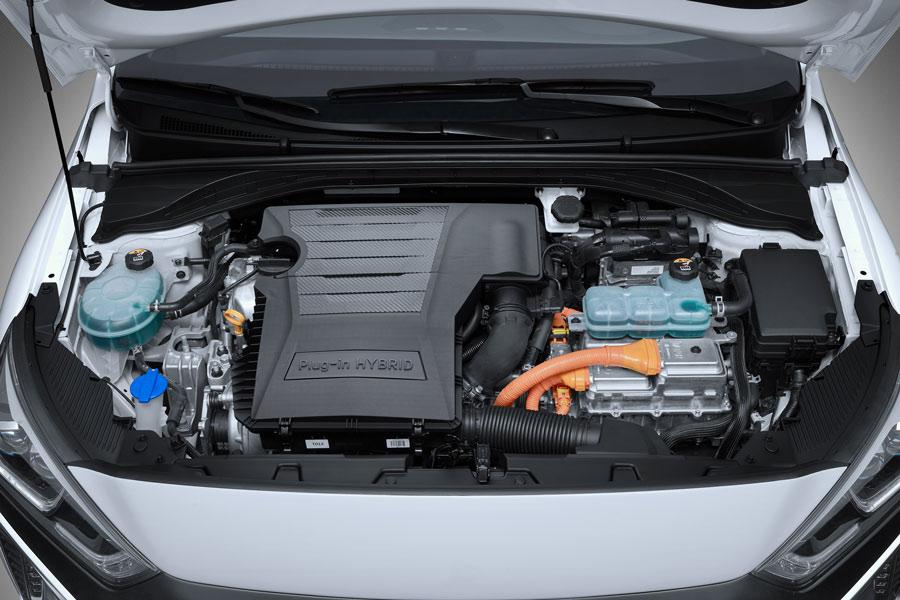 Motor del Hyundai Ioniq plug-in.