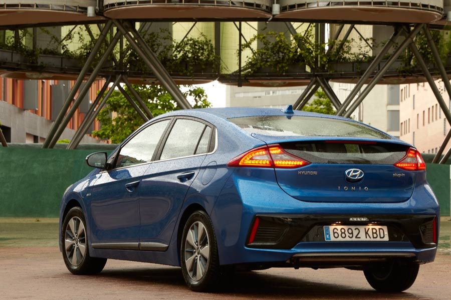 Hyundai Ioniq híbrido enchufable: ya está aquí el que faltaba