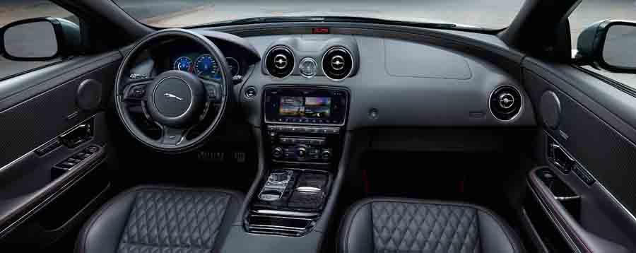 Nuevos sistemas de infoentretenimiento en el Jaguar XJ 2018.