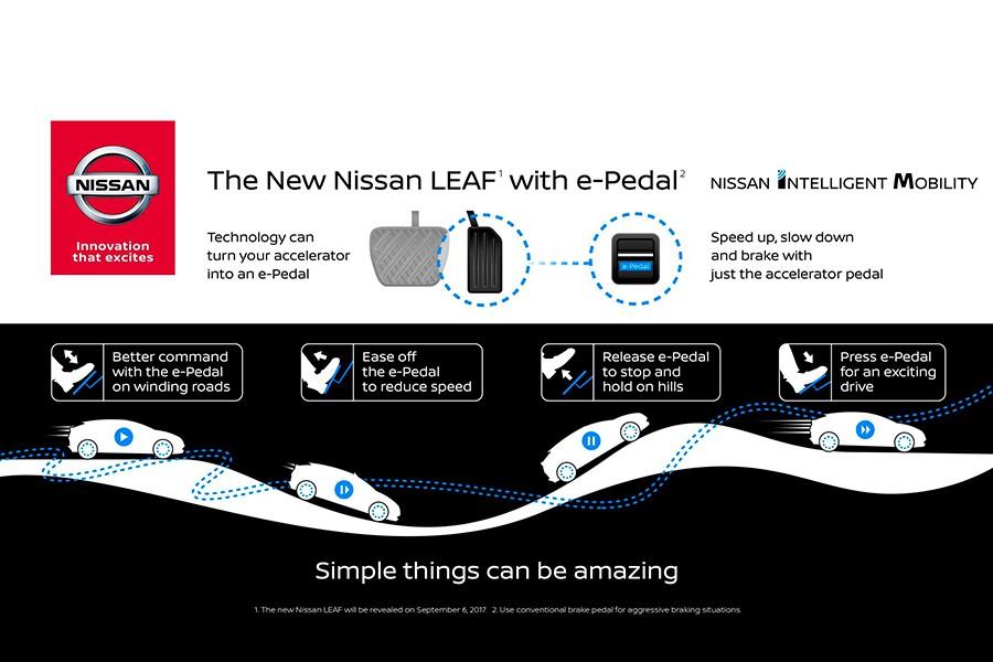 Nissan quiere que conduzcamos con un pedal