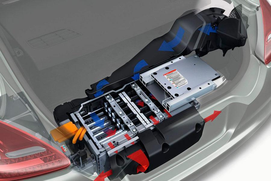 Refrigeración del sistema híbrido del Panamera hybrid.