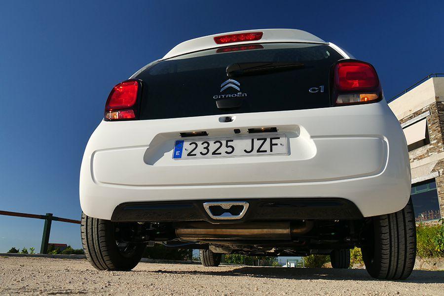 El C1 comparte casi todo con el Toyota Augo y el Peugeot 108.