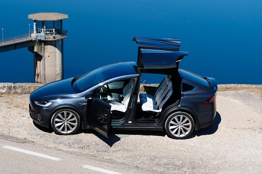 Prueba del Tesla Model X P100D