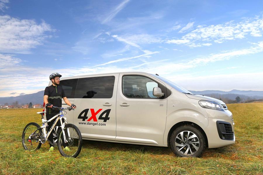 Citroën te lleva al campo con la serie especial Space Tourer 4×4 Dangel