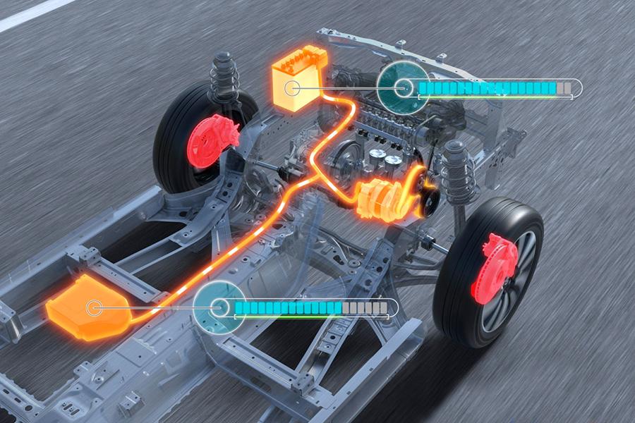 El sistema elimina el motor de arranque y añade una batería adicional.