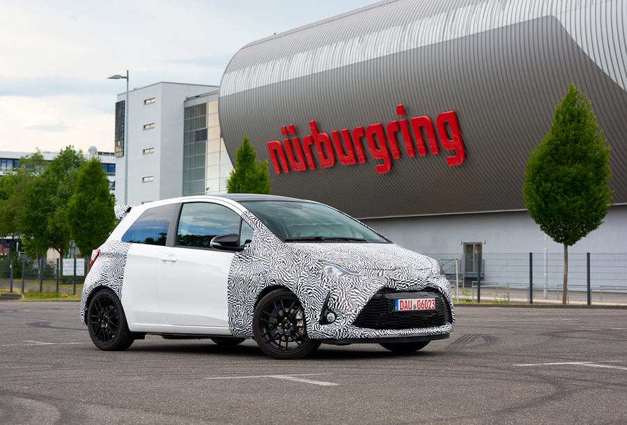 Toyota GRMN aterriza en Europa con el Yaris más deportivo