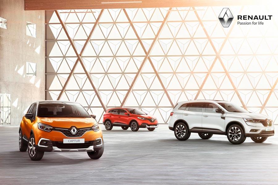 Renault, líder de ventas en España en junio de 2017