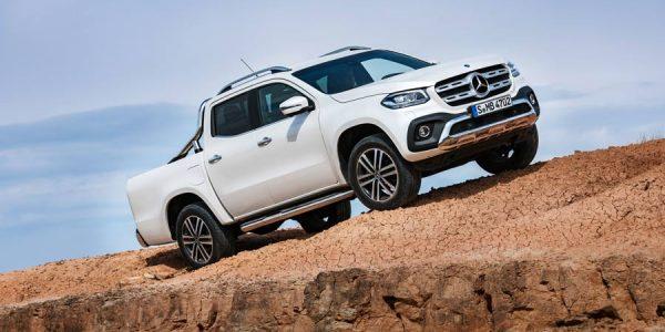 Clase X, así es el primer pick up de Mercedes