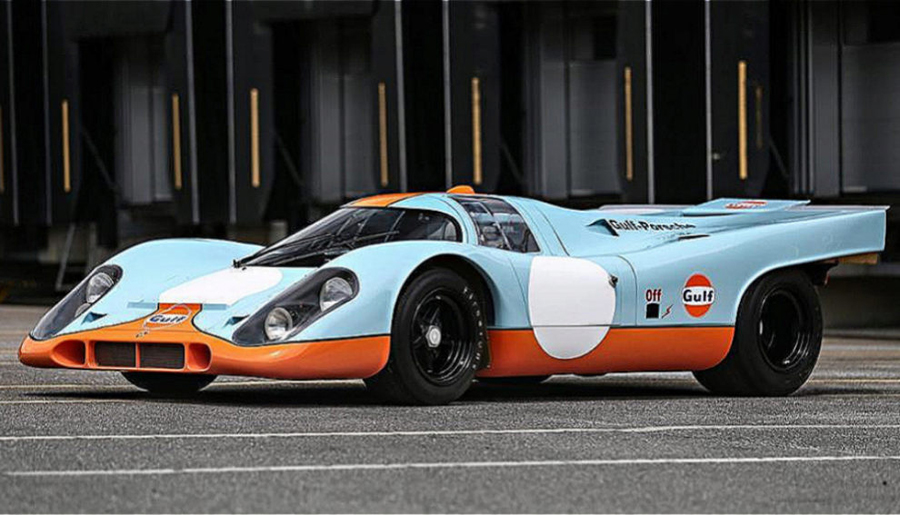 Porsche 917 subastado en Pebble Beach.