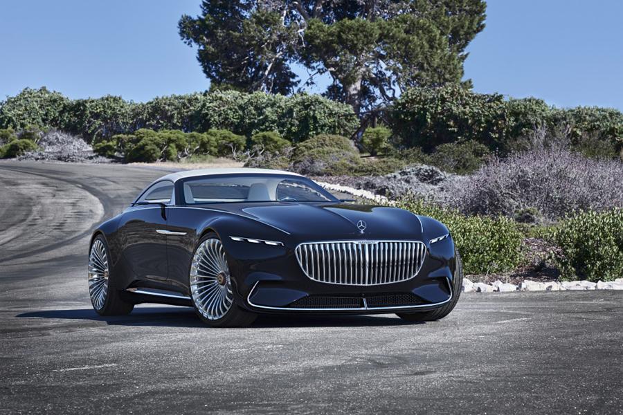 Vision Mercedes-Maybach 6 Cabriolet, lujo clásico
