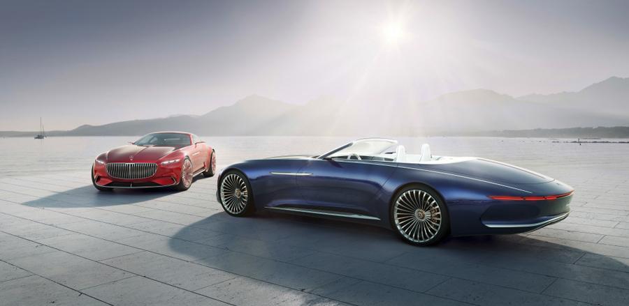 Ambos Vision Mercedes-Maybach: Coupé y Cabriolet.