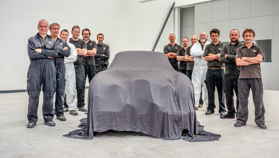 El único Jaguar XK120 SE Pininfarina llegará a Pebble Beach