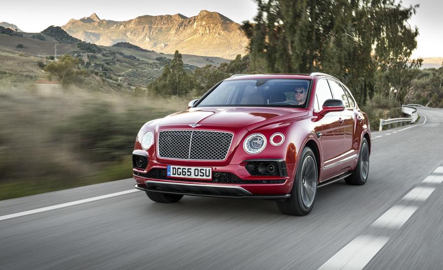 El Bentley Bentayga es el SUV más rápido del mundo.