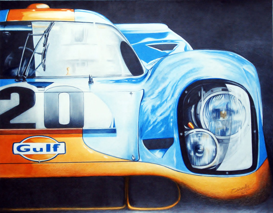 El Porsche 917 de McQueen a subasta