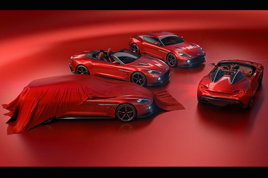 Nuevos Aston Martin Vanquish Zagato, la familia crece