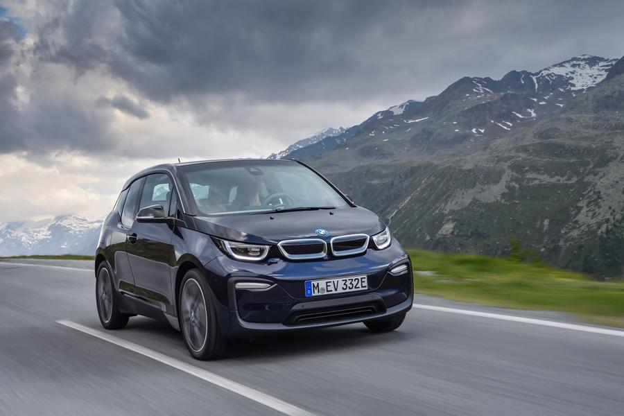 BMW i3 estrena imágen, más dinámica.