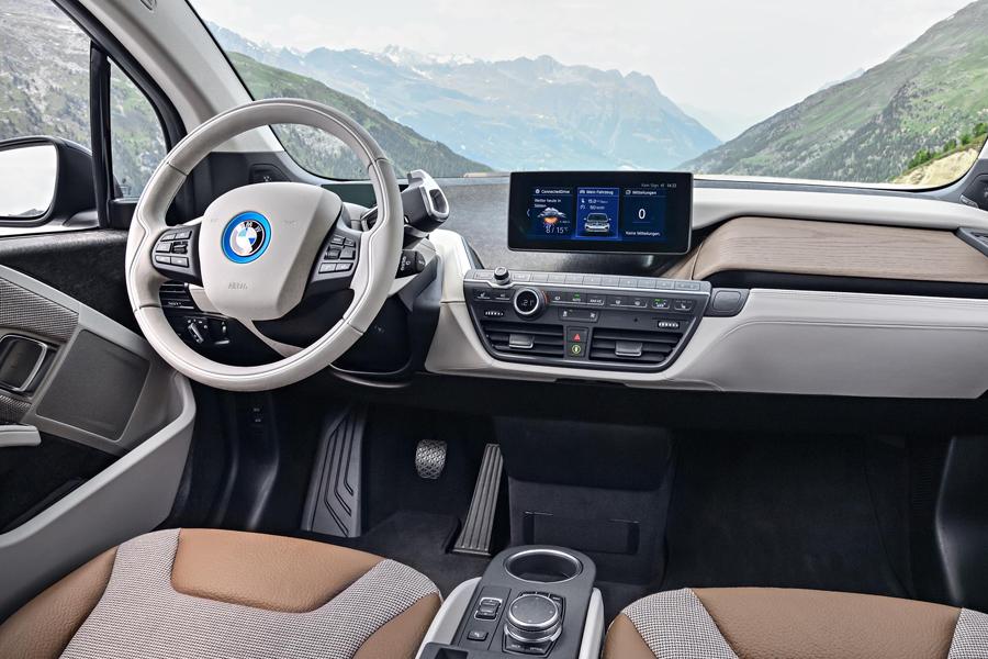 Habitáculo sostenible BMW i3.