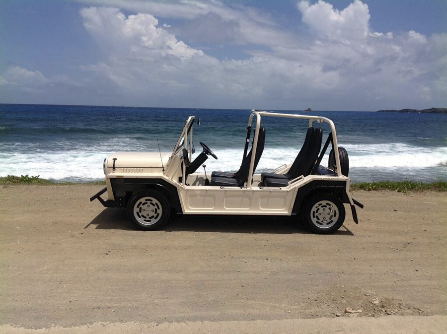 Mini Moke, un pequeño Jeep.