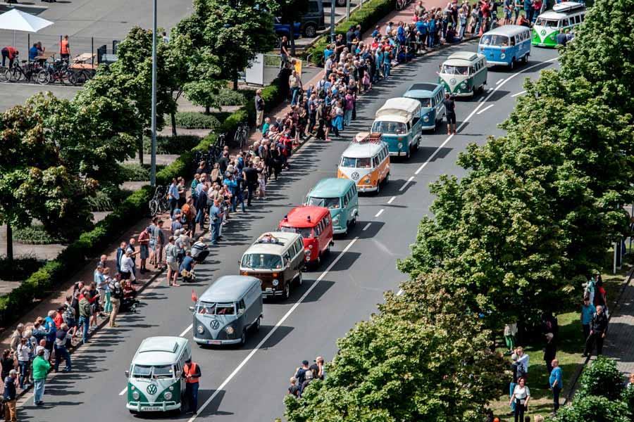 350 VW Bullis se citan donde nació la leyenda