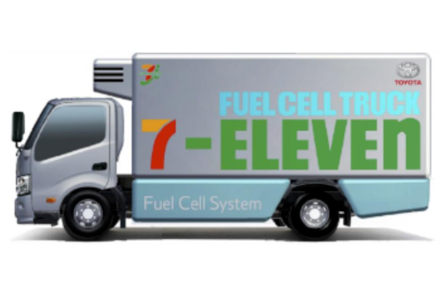 Camiones de hidrógeno: Toyota y 7-Eleven firman un acuerdo
