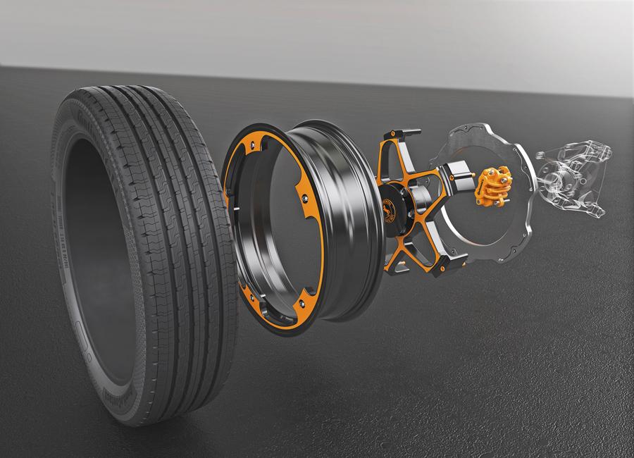 Continental propone darle la vuelta a la rueda