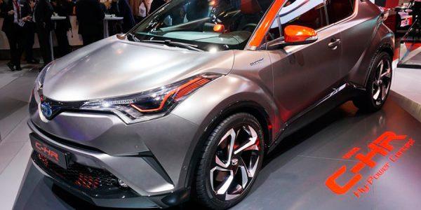 Toyota presenta un concept deportivo del C-HR en Frankfurt