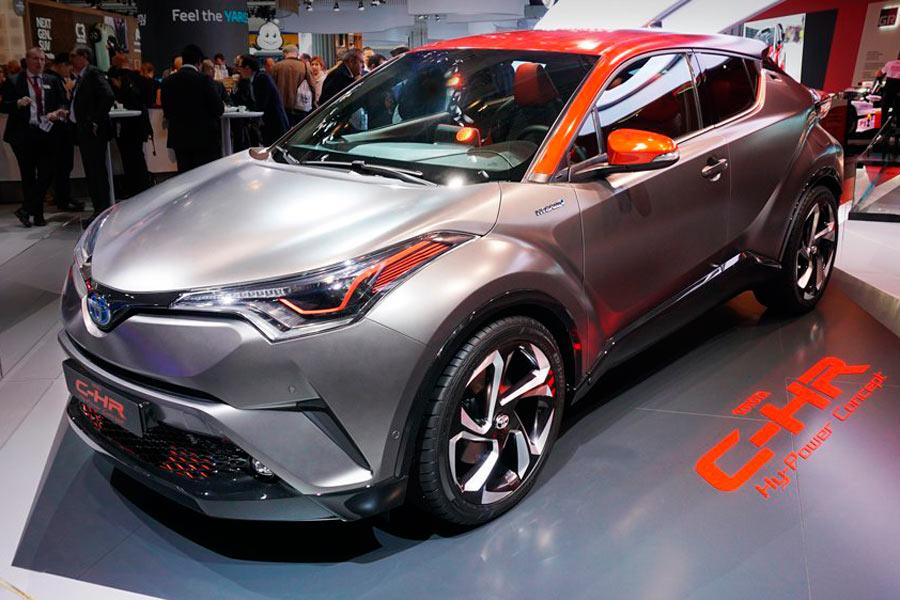Toyota C-HR Hy-Power Concept en Frankfurt.