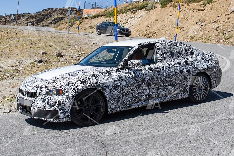 Fotos espía del BMW M340i 2018