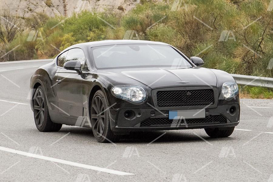 Fotos espía del nuevo Bentley Continental GT 2018