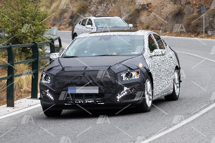 Fotos espía del nuevo Chevrolet Malibú 2018
