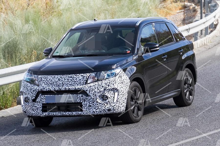 Fotos espía del nuevo Suzuki Vitara 2018
