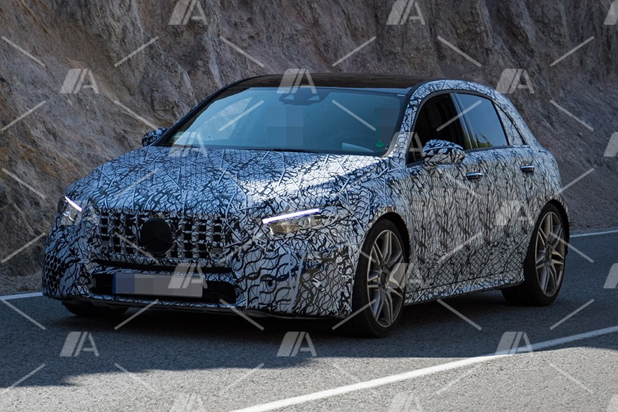 Fotos espía del Mercedes Clase A 40 AMG 2018