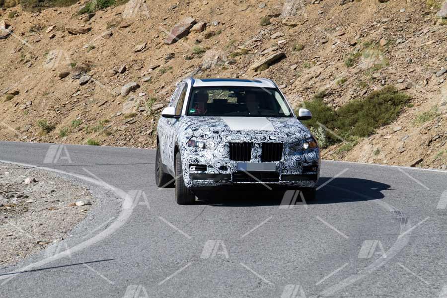 Fotos espía del BMW X5 PHEV eDrive 2018