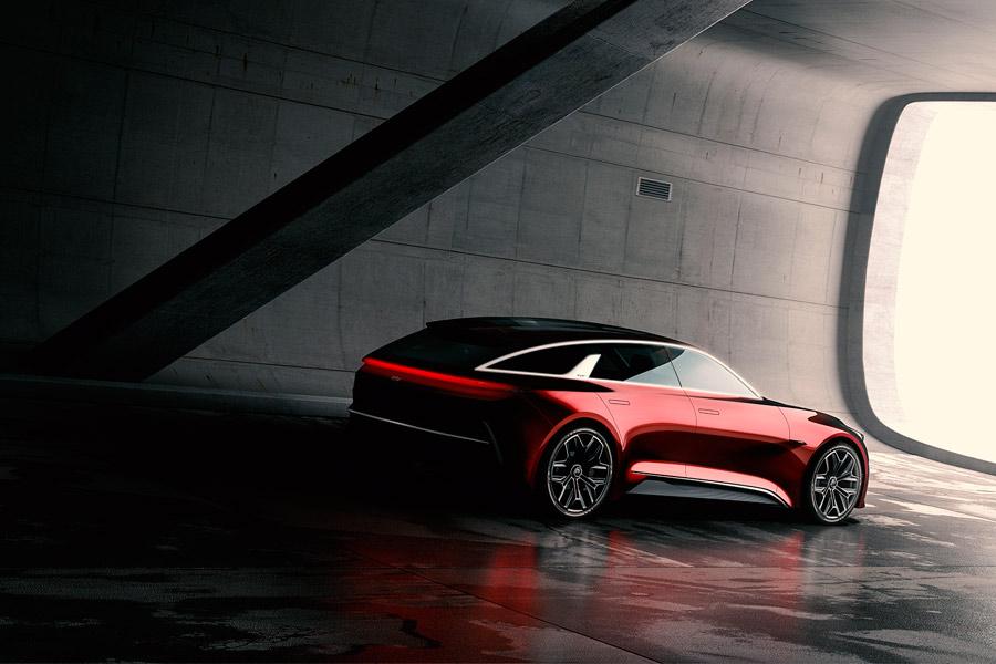 KIA Concept Car Frankfurt.