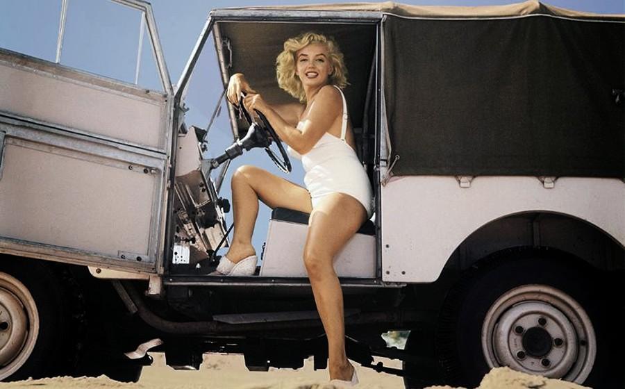 Los coches de Marilyn Monroe