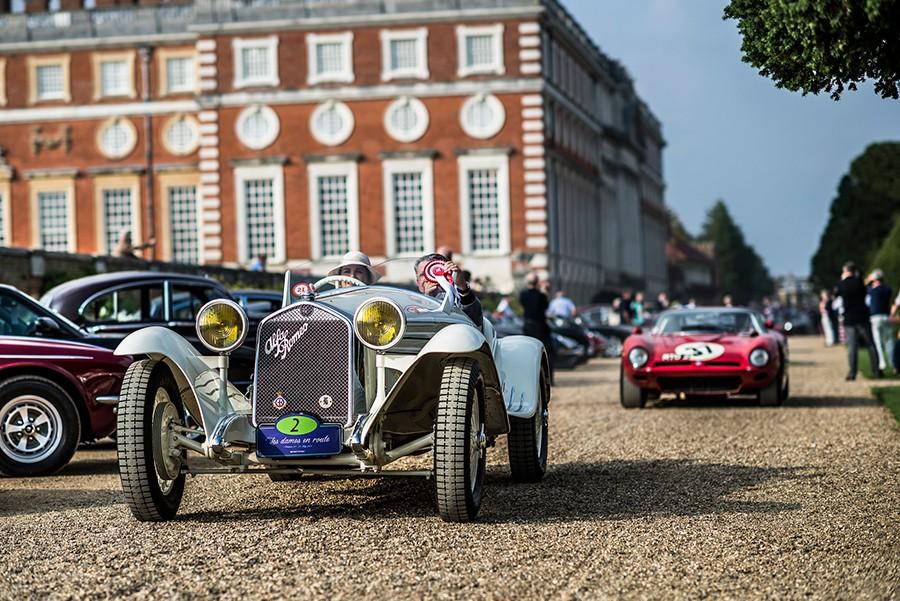 Los coches más elegantes del concurso de Hampton Court 2017