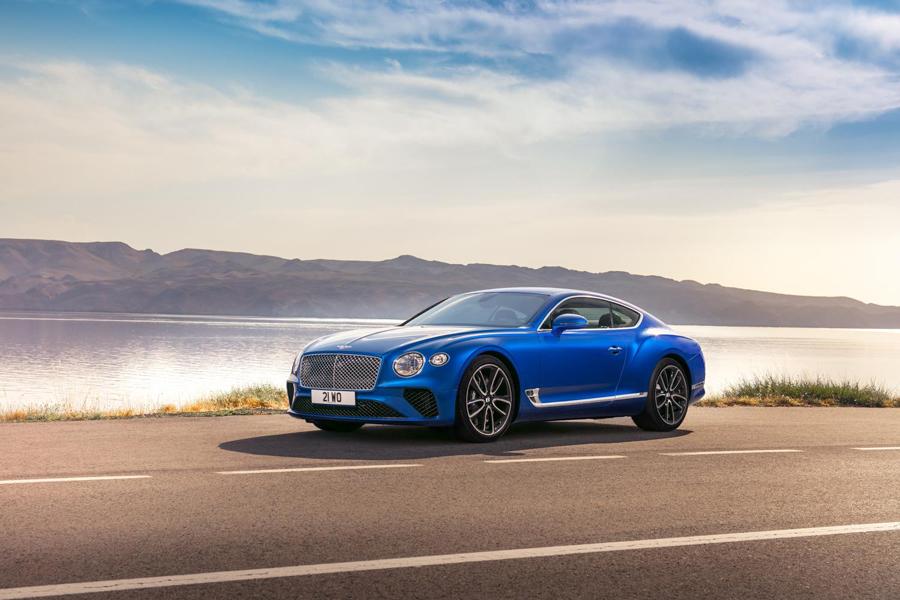 La nueva imagen del Continental GT esarmoniosa, como esculpida de una pieza.