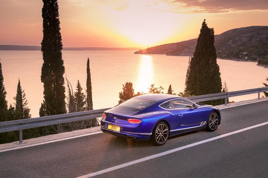 Todo Gran Turismo deberá medirse con el Bentley Continental GT.