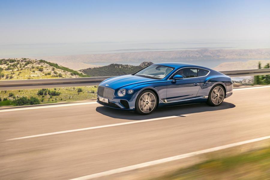Continental GT, la pidra angular de los Gran Turismo.