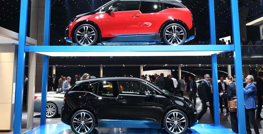 Nuevo BMW i3 en el Salón de Frankfurt