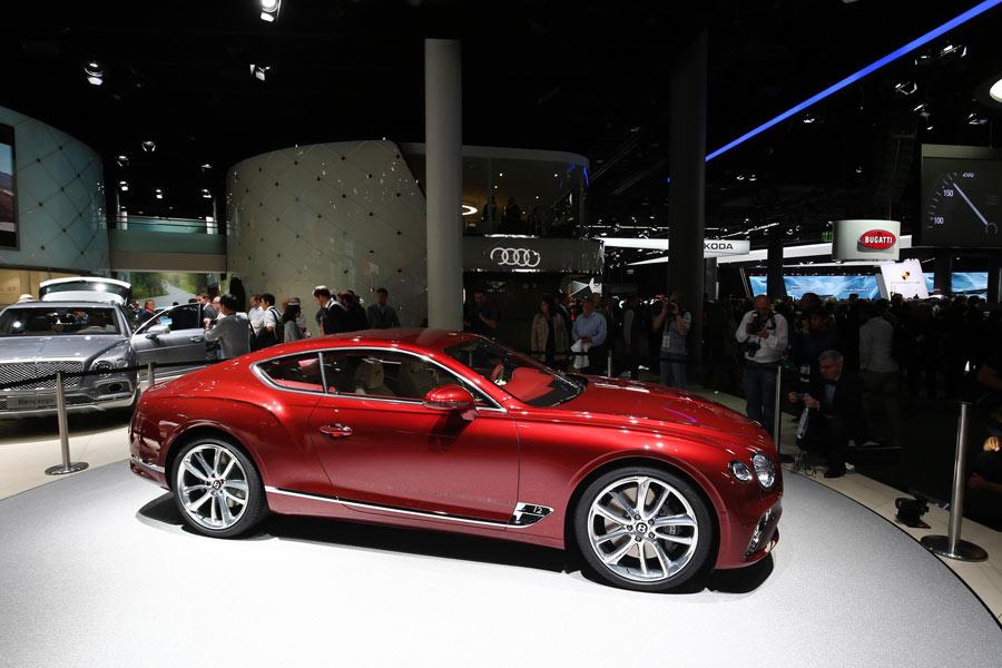 """Tercera generación de Bentley Continental GT, el """"Gran Turismo"""""""